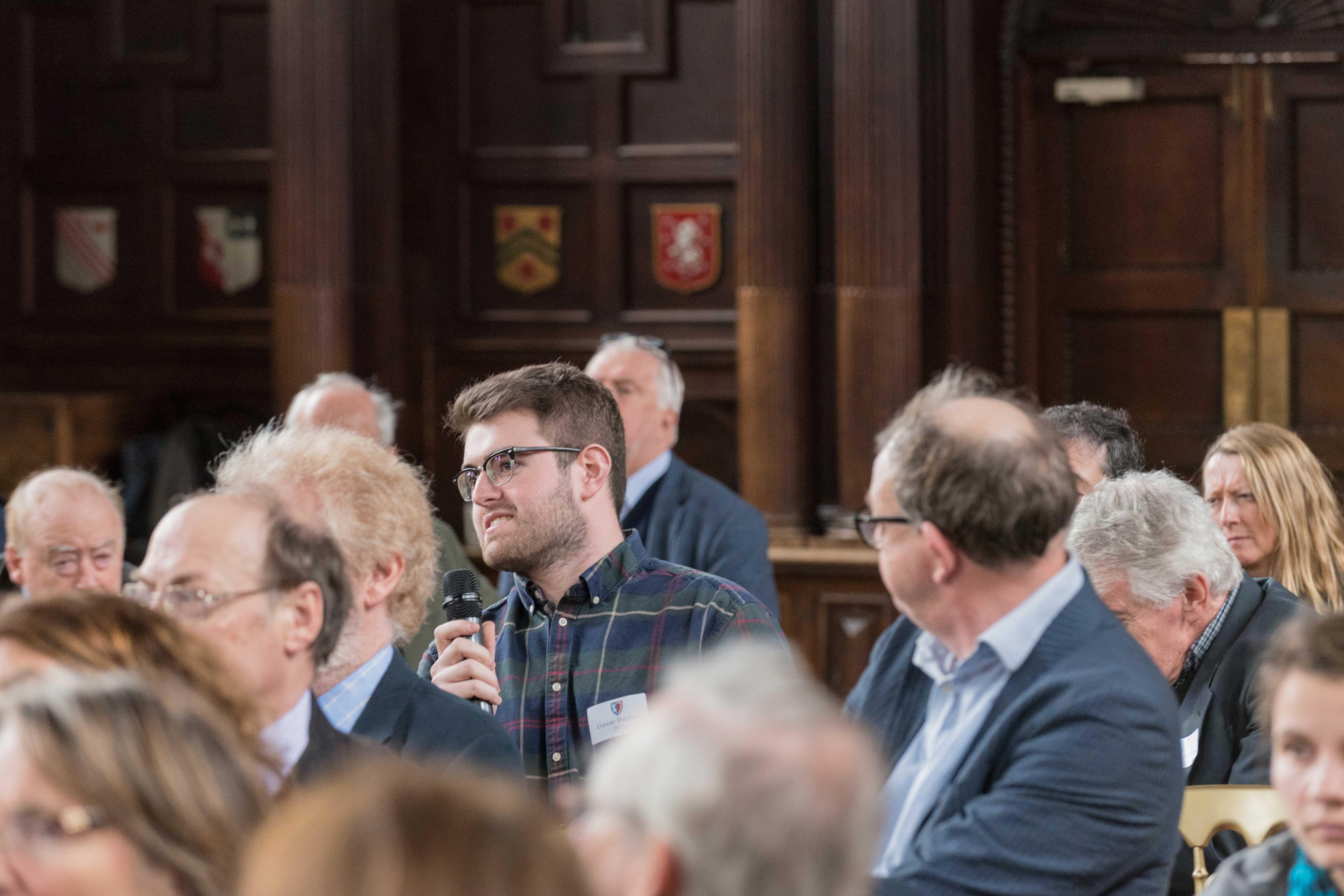 Audience at Jowett Bicentenary Seminar 2017 (photo: Stuart Bebb)
