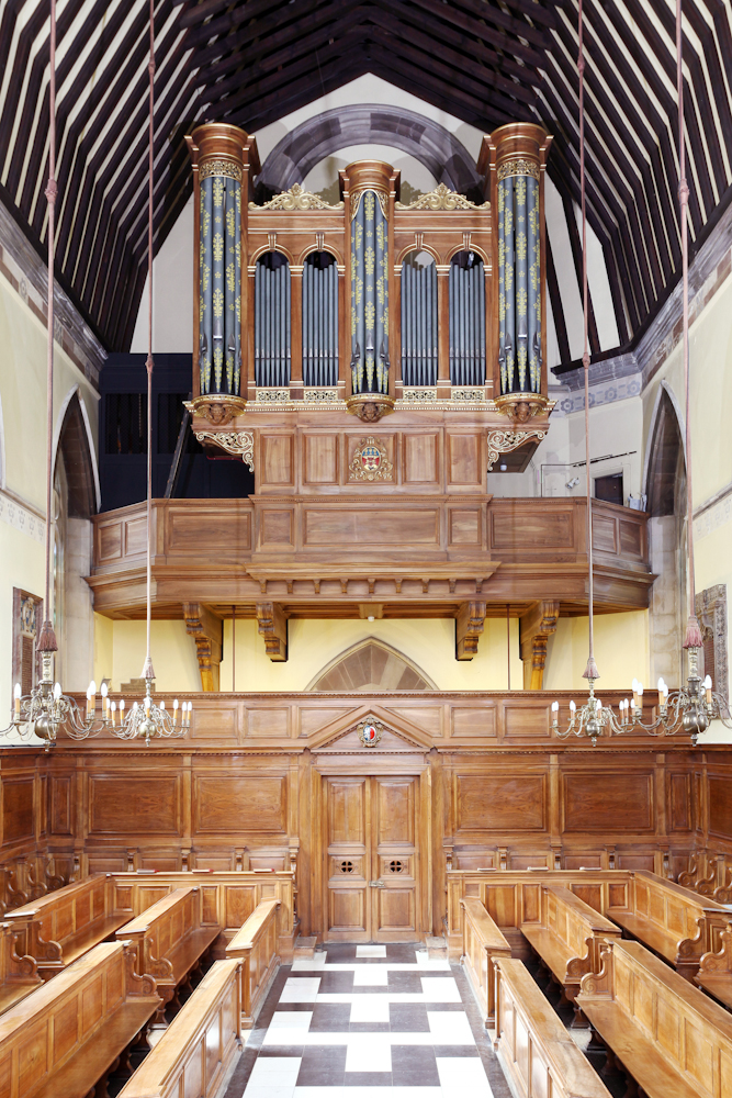 Organ in Balliol Chapel (photo: Ian Taylor)
