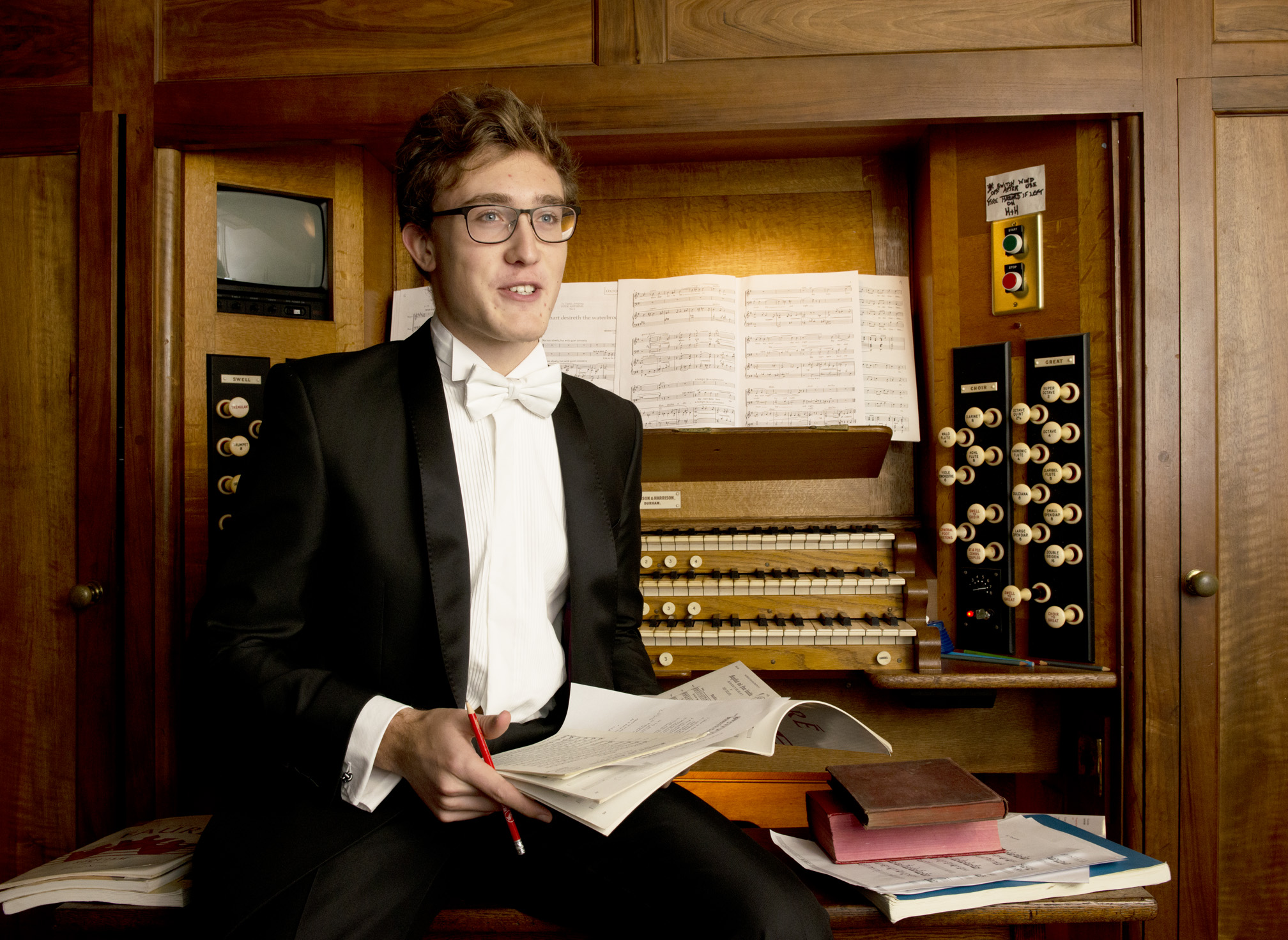 Balliol organ scholar (photo: Rob Judges)