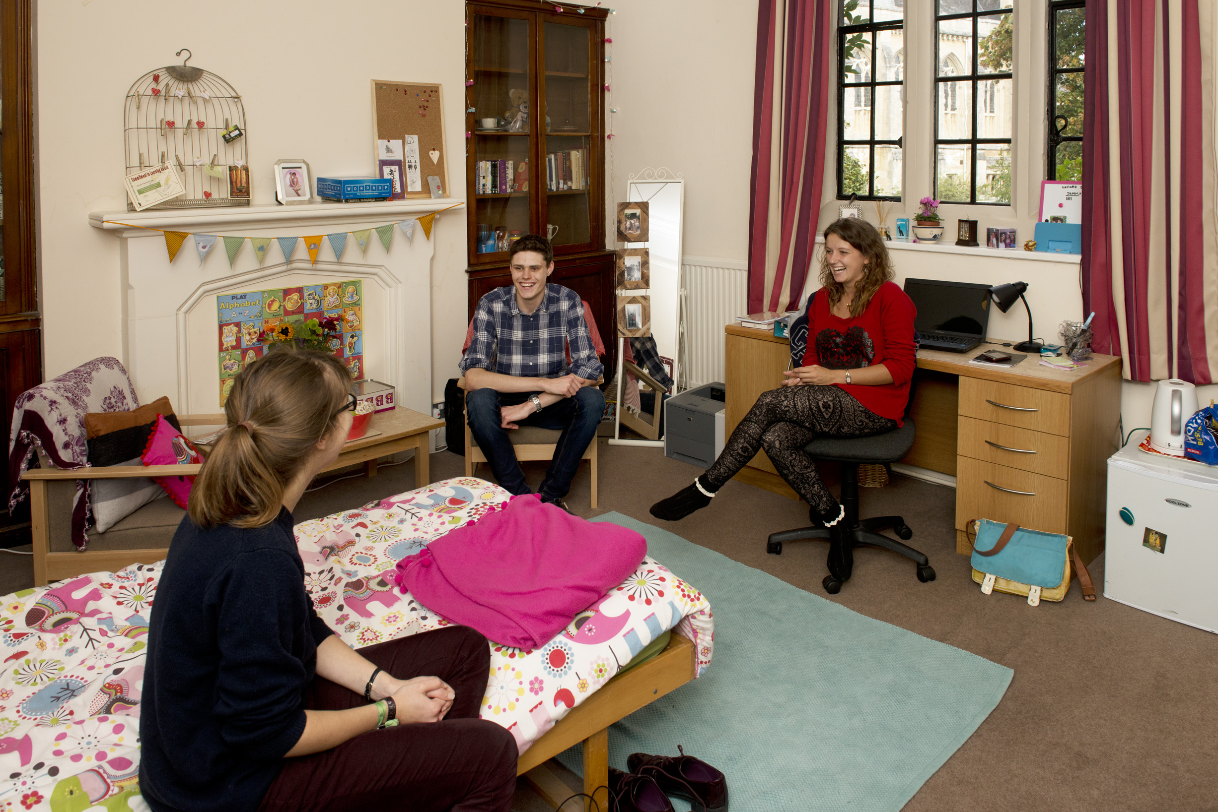 Female student bedroom