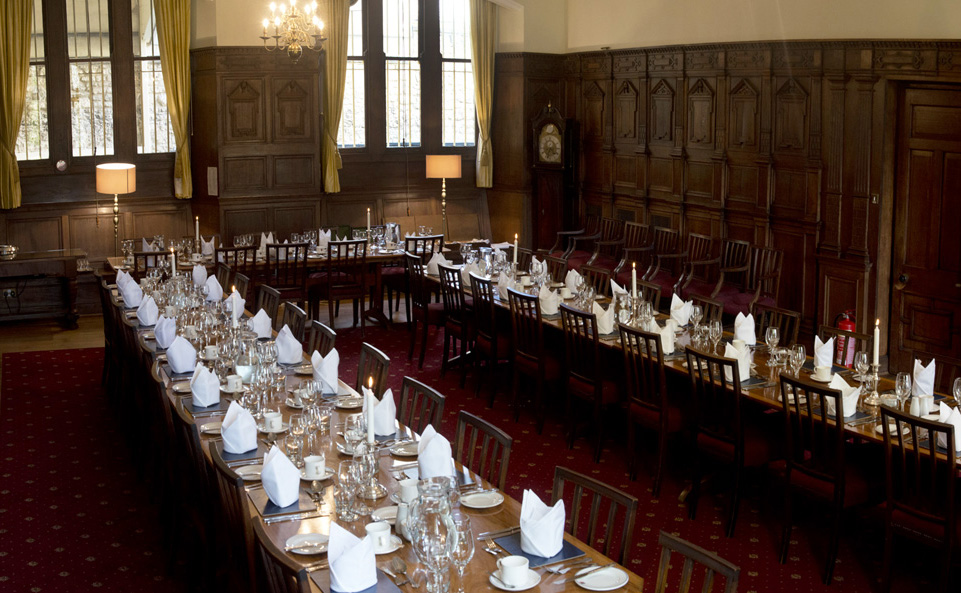 Balliol Senior Common Room dining room (photo: Rob Judges)