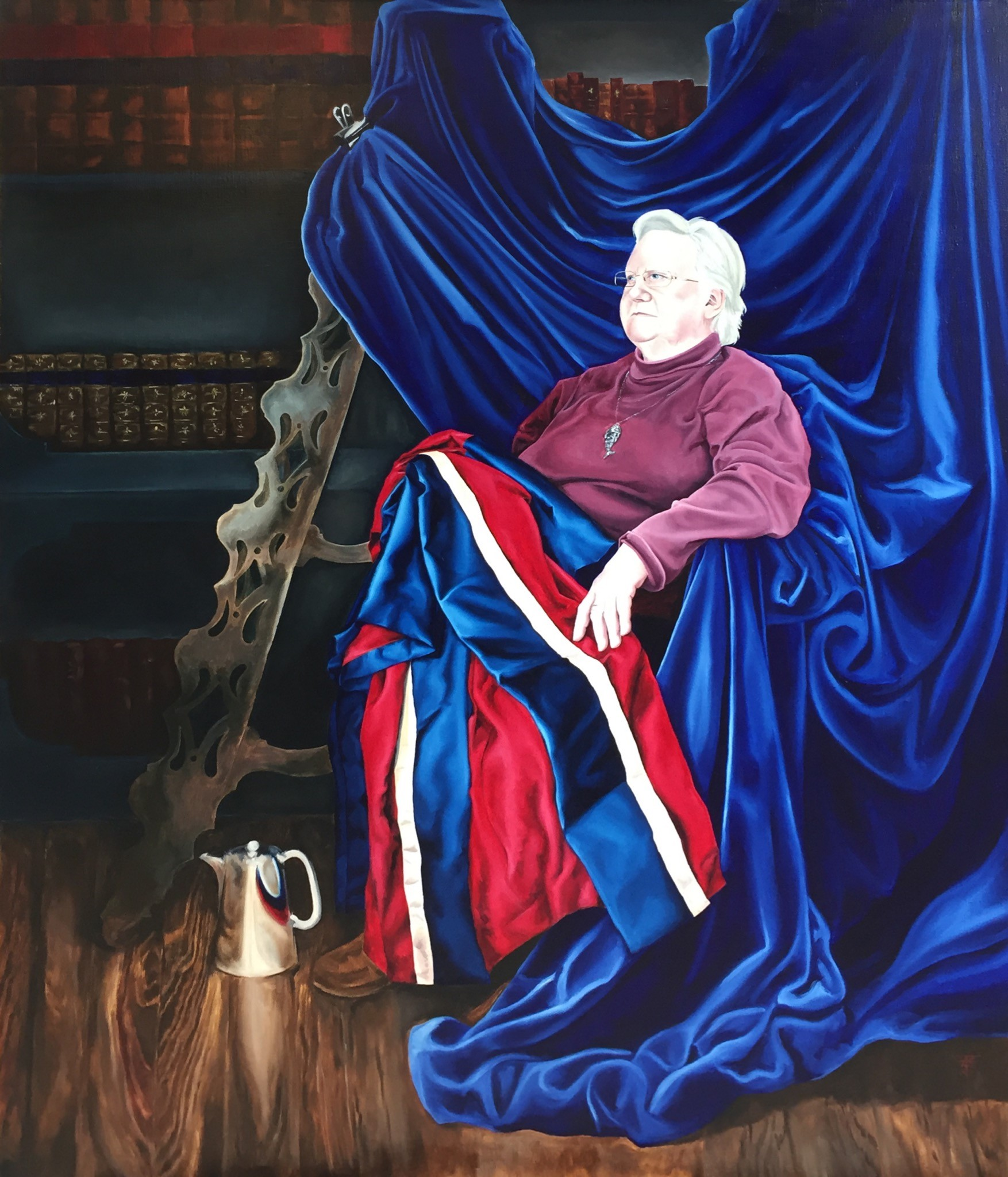Portrait of Dr Norma Aubertin-Potter by Emily Carrington Freeman