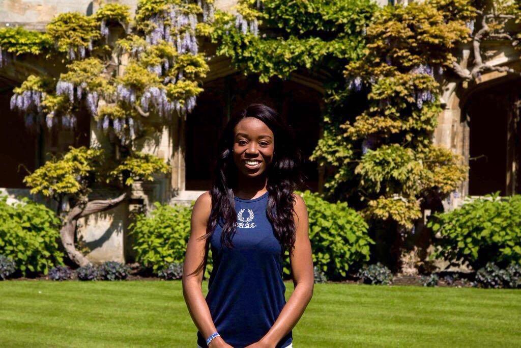 Balliol student Eniola Oyesanya