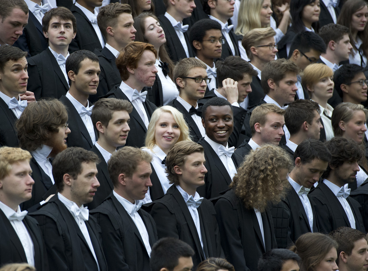 Balliol students on matriculation day (photo: Rob Judges)