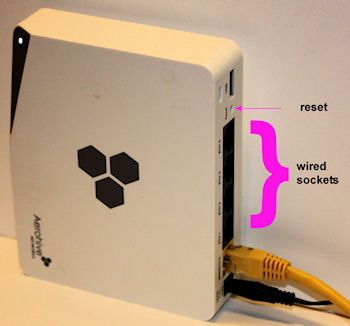 Aerohive access point