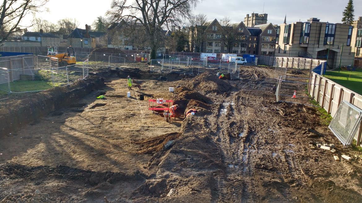 MFP: the cleared site adjacent to Jowett Walk (photo: Maylarch)