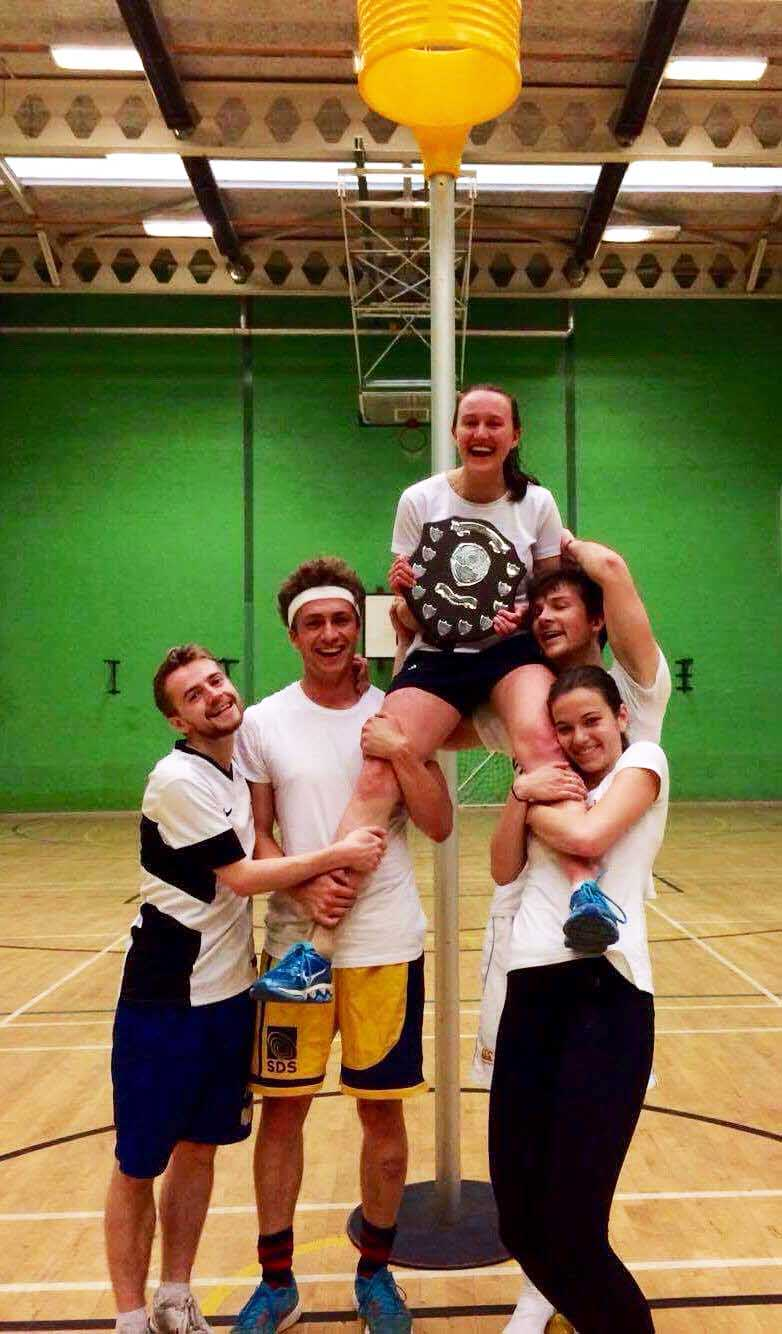 Balliol wins korfball Cuppers 2017