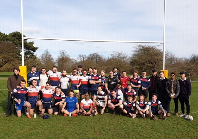 Old Members play current members at rugby 2019