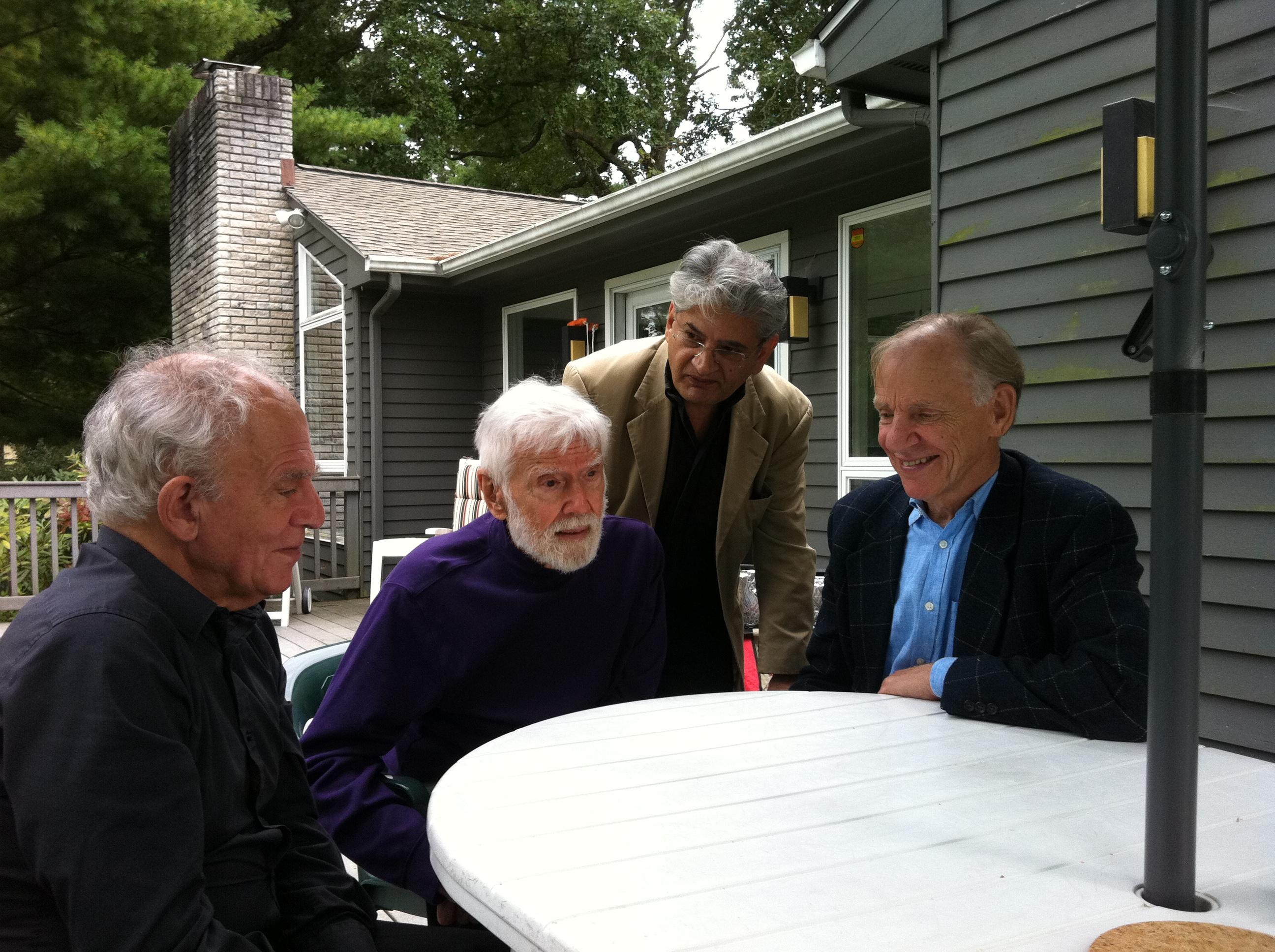 Professor Paul Streeten and friends