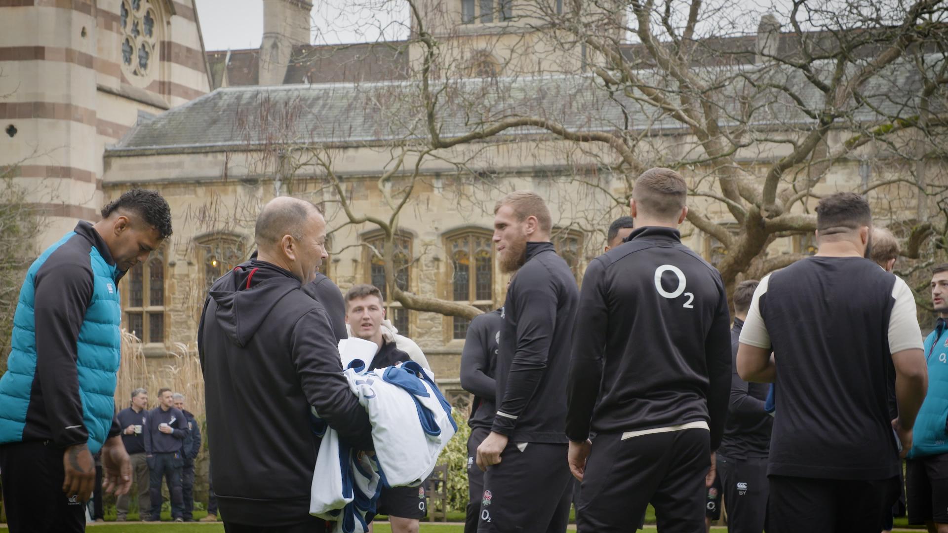 England Rugby visit Balliol 1 March 2019 (photo: Joel Stocker/RFU)