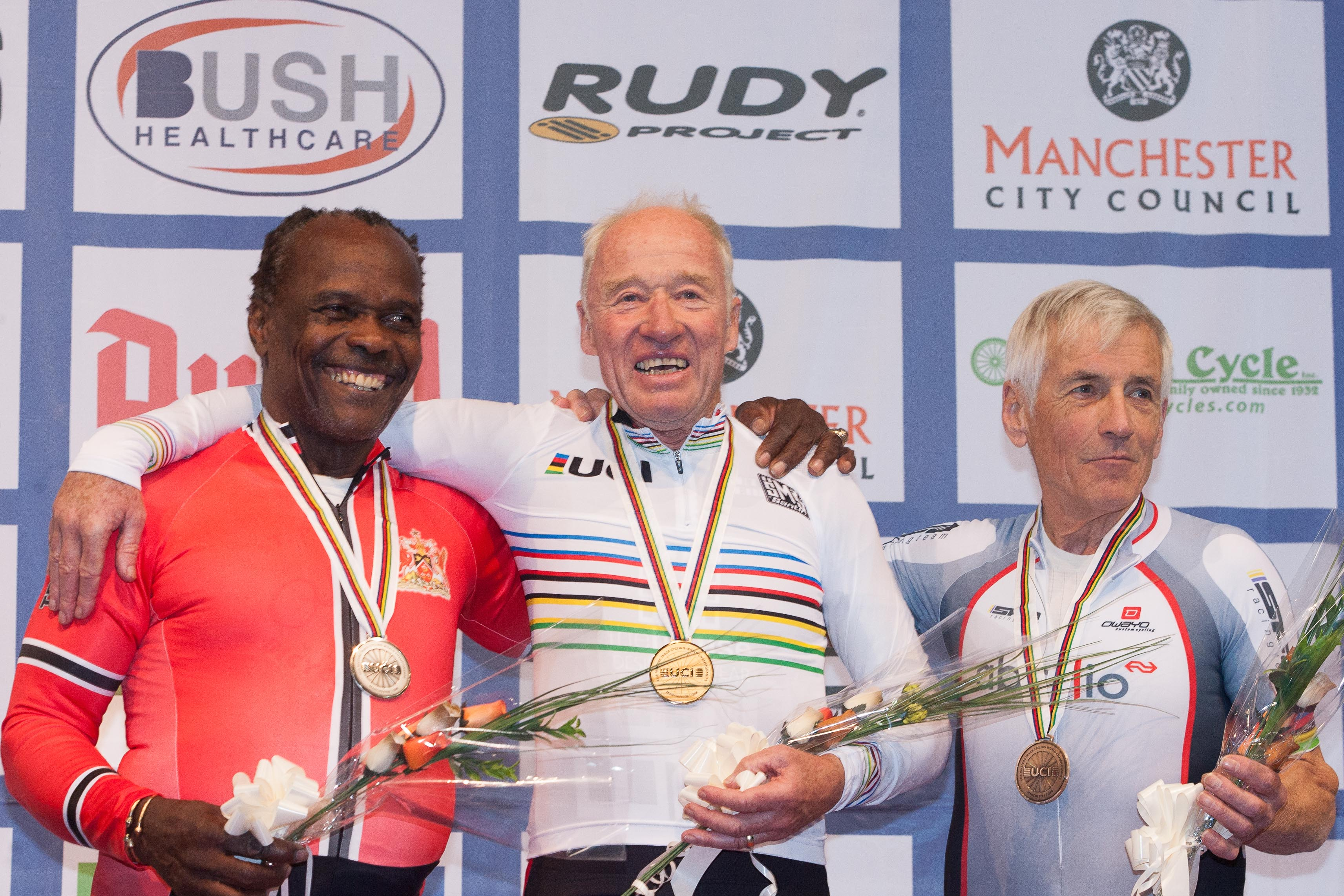Peter Smith, World Masters Cycling Track champion
