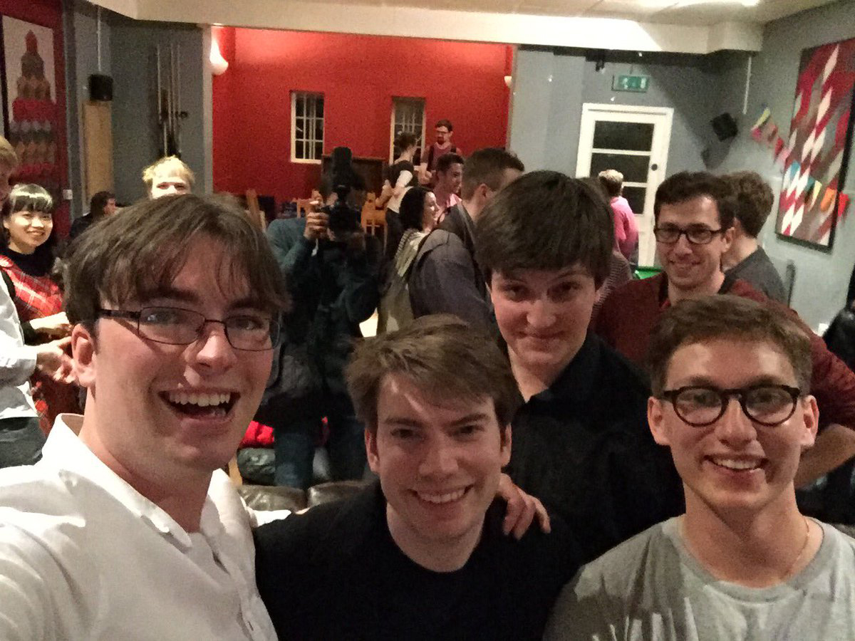 Balliol University Challenge team winners 2016/2017